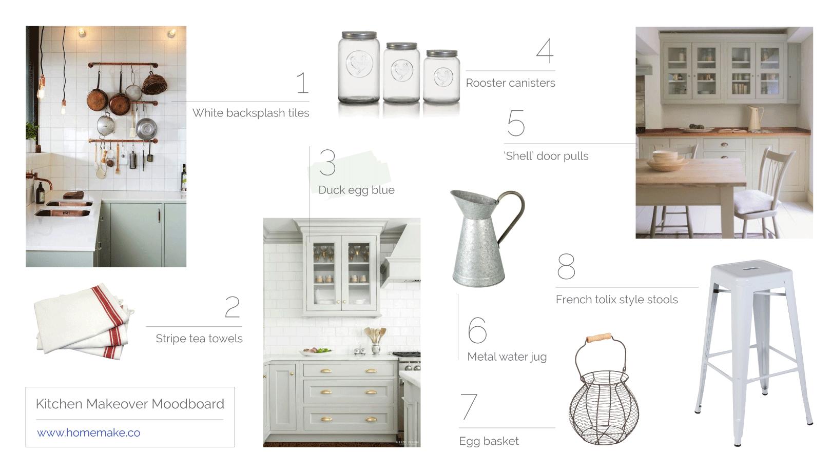 Kitchen moodboard